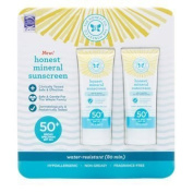 The Honest Company Honest Mineral Sunscreen Lotion SPF 50 2-pack 90ml