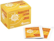 Safetec Brand Sunscreen Lotion Skin Care Protective Creams SPF 30 Plus 3.5g 25 Packets MS-84250