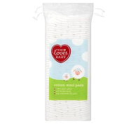 Tesco Loves Baby Cotton Wool Pads Square 50'S