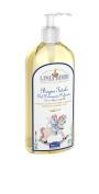 Linea Bimbi Organic 2 in 1 Baby Shampoo Body Wash for Sensitive Skin No Tears Vegan Friendly Dermatology Tested, Certified Organic 500ml
