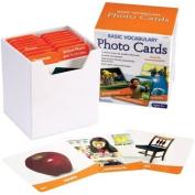 Learning Resources Basic Vocabulary Photo Card Set