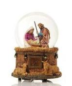 Little Town of Bethlehem Nativity Water Globe Multi-Coloured
