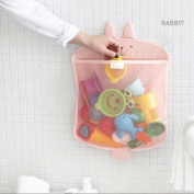 Kids Bath Toy Storage,Bathroom Strong Suction Cups Organiser Wall Hooked Kidlife Baby Shower Caddy Toys Bag