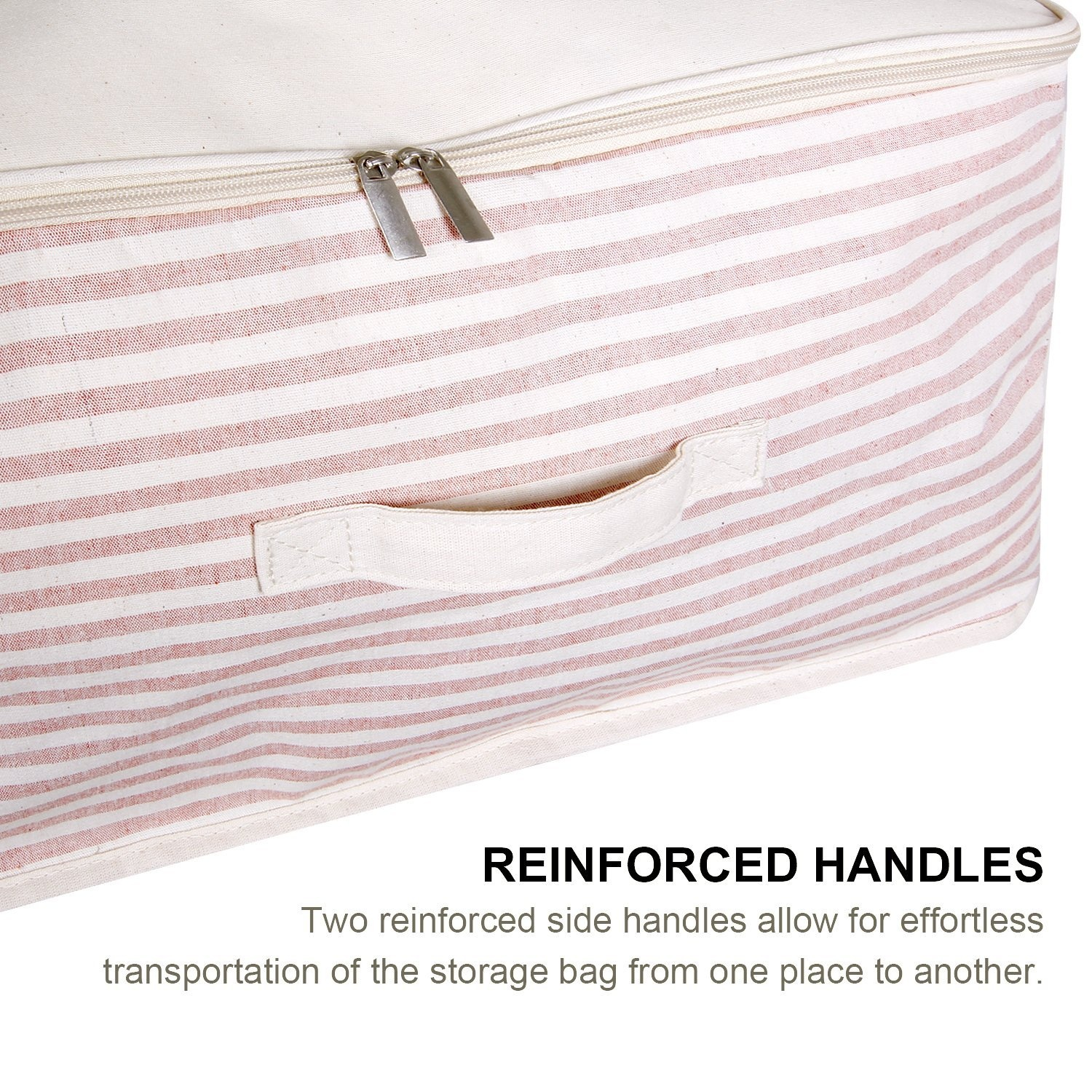 Clearance Bestoppen Large Storage Bag, Fabric Clothes Bag,Foldable Storage Bag Clothes Blanket Quilt Closet Portable ...