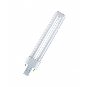Osram Dulux S Compact Fluorescent Lamp 840 G23 9W Cool White