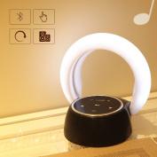 BLuetooth Speaker With Light,Kids Bedside Desk Night Light with Music Player Bluetooth Speaker with Night Light Sensitive Tap Light Control Better for Children Kids Bedroom