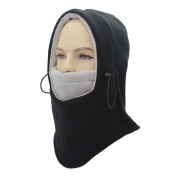 Balaclava Full Face Ski Mask - Balaclava Motorcycle Fleece Hood - Neck Warmers - Outdoor Sports Cold Winter Windproof Balaclava Hat Mens Womens