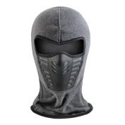 Balaclava Ski Mask Unisex Winter Fleece Warm Full Face Cover Anti-dust Windproof Hats