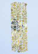 CreaPop Decorative Garland ® Metal 100 x 3.5 CM Design II gold