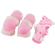 Skateboarding Skating Safety Gear Combo Wrist Guard Elbow Pads Knee Pads for Kids