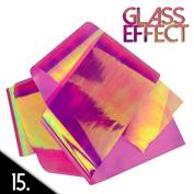 Mirror effect nail art foil 50cm N15