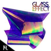 Mirror effect nail art foil 50cm N14