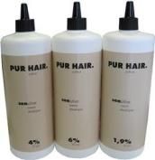 PUR HAIR Colour Sensitive Cream Developer 1000ml 4 %