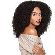 Black Colour Wig For Black Women Heat Resistant Synthetic Wig Curly Synthetic Women Afro European Wigs