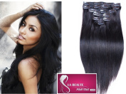 The Beauty In All Maxi Volume 120g Clip In Hair Extensions Human Hair Grade 5 A Cold 46 cm