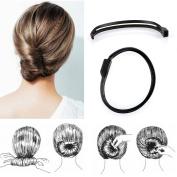 MultiWare Hair Styling Donut Bun Clip Tool French Twist Maker Holder Sticks Style