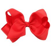 prelikes 2Pcs Toddler Baby Girl Hair Clip Big Bowknot Ribbon Hairpin Hair Accessories