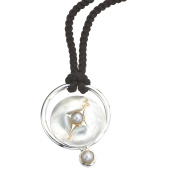 Pearl, Mother of Pearl Silver Pendant