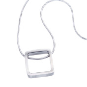 Sterling Silver Small Square Pendant