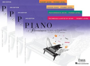 Faber Piano Adventures Primer Level – Four Book Set - Lesson, Theory, Performance, and Technique & Artistry Books