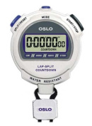 Litania Sports Group Gill Athletics Robic Silver 2.0 Stopwatch