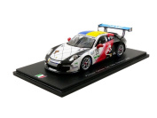 Spark –SI005 – VEHICLE MINIATURE – Porsche 911/991 GT3 Cup – Champion Italy 2016 – Scale 1/43, White/Black/Red