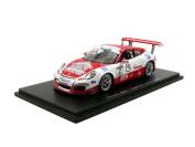 Spark –S5152 – VEHICLE MINIATURE – Porsche 911/991 Carrera Cup – Champion Supercup 2016 – Scale 1/43, Red/White