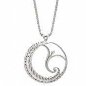 Lavaggi Jewellery Sterling Silver Jump For Joy Pendant Necklace, 46cm Chain