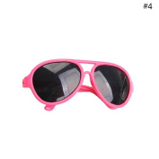 HUUATION 46cm American Girl Doll Glasses Doll Aviator Sunglasses Baby Dolls Sun Glasses 4 Colour