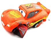 "Disney Pixar Cars Lightning McQueen Soft Plush Pillow Cushion 45cm 18"" Toy"