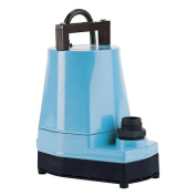 Little Giant 505176 1/6 HP 115V 1200 GPH UL/CSA Listed Submersible Utility Pump