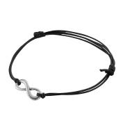 MultiWare Infinity Love Eternal Silver Charm Peace Friendship Karma Wish Bracelet Gift