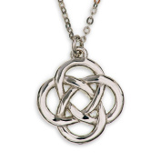 Jura Knot Celtic Pewter Pendant - Made in Scotland by Art Pewter - P502