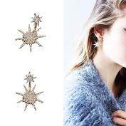 Multiware Women Elegant Crystal Rhinestone Ear Stud Earrings Cubic Zirconia Jewellery