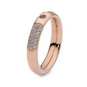 Qudo Famosa Ring Deluxe Rose Gold 56