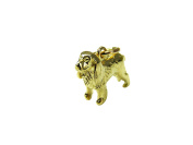 9ct Solid Yellow Gold Cocker / Springer Spaniel Dog Charm / Pendant