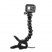 Suptig Jaws Flex Clamp Mount Gooseneck Mount for GoPro Hero 6 Hero 5 Hero 4 Session Hero 3+ Hero 3 Action Cameras