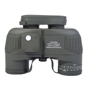 Waterproof Tactical Binoculars Military Compass BAK4 Fully Multi-coated Central Focusing Independent Focus