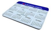 I Love (Heart) European Union, 2018 Calendar Mouse Mat, Great Quality, Large Size