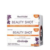 ResVitale - Beauty Shot Collagen with Hyaluronic Acid & Vitamin C Peach Mango - 70ml