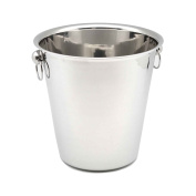 Champagne / Wine / Ice Chiller Bucket - Stainless Steel - 4 Litre