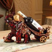 Longless Decorative resin ornaments creative crafts European wine rack living room decorations