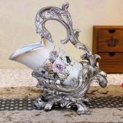 Longless Vintage wine rack hotel decorative resin crafts ornaments