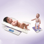 High Precision Electronic Baby Scales, 0.1 Seconds Rapid Induction Recognition Automatic Identification Of Two Weighing Modes,, For Babies, Pregnant Women, Adults, Children, Pets