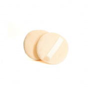 Cinlla Round Shape Powder Puff Beauty Flawless Wedding Makeup Blender Foundation Pro Facial Cosmetic Tool 2pcs
