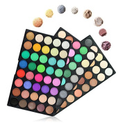 120 Colours Eyeshadow Palette, TOFAR Professional Eye Shadow Make-up Palette Nudes Warm Natural Highly Pigmented Neutral Smoky Eye Shadows Cosmetic Makeup Kit with Matte Shimmer Shadows