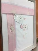 Crib Sheet Amelie Pink