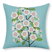 Teebxtile Pillow cover sofa cushion cover home decoration products Cotton and linen ,43x43cm no-,CK0930