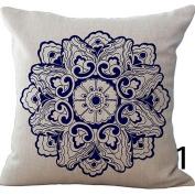 LUVCALS Vintage Linen Cotton Fashion Throw Pillow Case Cushion Cover Home Sofa Decoration