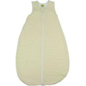 Dimo Tex Baby Boys' Striped Sleeping Bag beige Beige, Hellbeige, Sand, Natur
